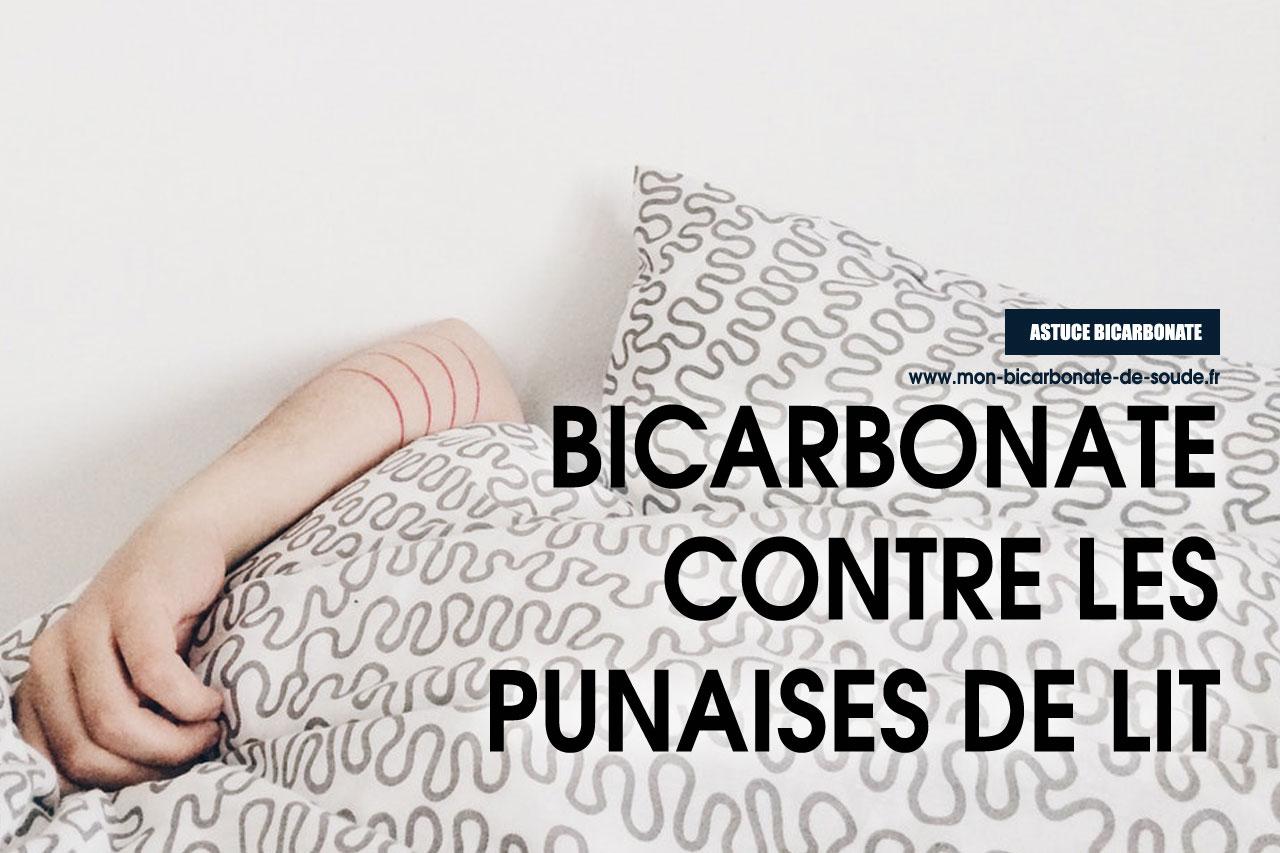 bicarbonate punaise de lit