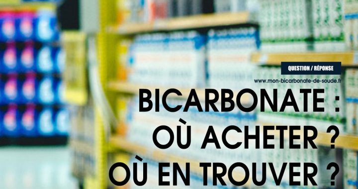 bicarbonate ou acheter